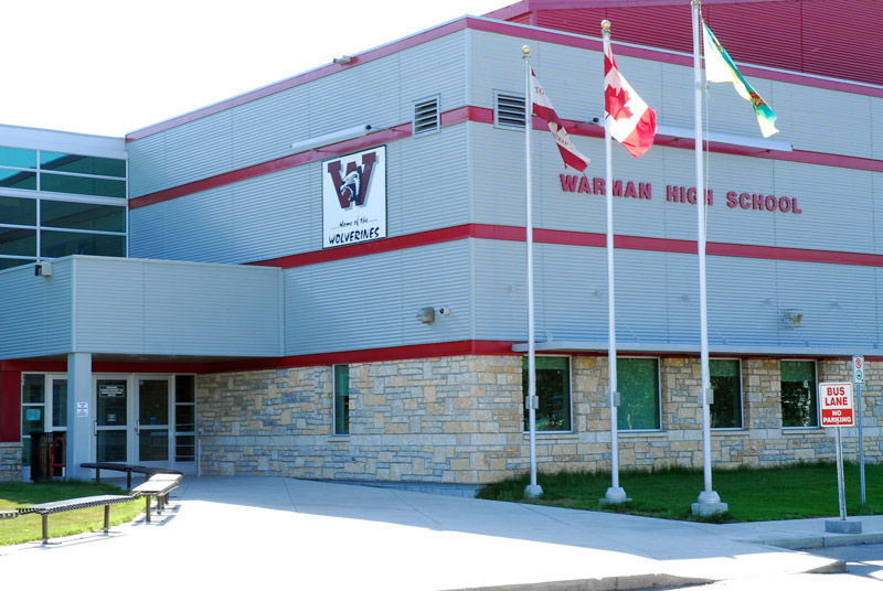 Warmen High School